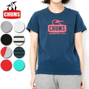 チャムス chums Tシャツ Booby Face T-Shirt Women's ブービーフェイスTシャツ CH11-1325 レディース 正規品【服】【t-cnr】【メール便発送・代引き不可】|snb-shop