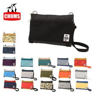チャムス chums ショルダーバッグ 2 Necked Shoulder Sweat Nylon CH60-2405 【カバン】メンズ レディース アウトドア サコッシュ【メール便・代引不可】|snb-shop