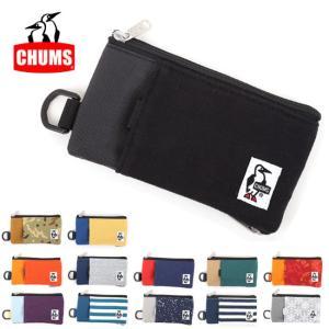 チャムス chums スマホケース Smart Phone Case Sweat Nylon スマートフォンケース スウェットナイロン CH60-2459 【雑貨】携帯【メール便・代引不可】|snb-shop