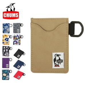 【メール便発送・代引き不可】チャムス chums パスケース Eco Pass Case CH60-2487 【雑貨】定期入れ カードケース
