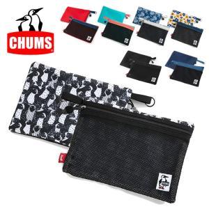 CHUMS チャムス Eco Flat Pouch M(A5) CH60-2726 【アウトドア/日本正規品/ポーチ】【メール便・代引不可】|snb-shop