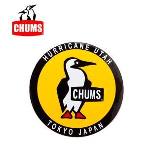 チャムス chums ステッカー ラウンドブービーバード Sticker Round Booby Bird シール ロゴステッカー ch62-0156|snb-shop