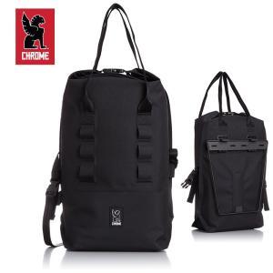 CHROME/クローム SADDLE BAG ROLLTOP 20/ブラック BLK ロールトップ|snb-shop