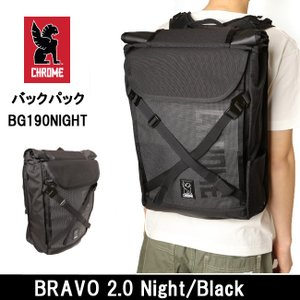 CHROME/クローム バックパック BRAVO 2.0 Night/Black BG190NITE|snb-shop