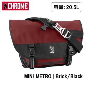 CHROME クローム MINI METRO Brick/Black BG001 【カバン】 メッセンジャーバッグ ショルダーバッグ ファッション おしゃれ snb-shop
