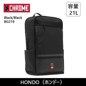 CHROME クローム HONDO(ホンドー) Black/Black BG219 【カバン】 バックバック デイパック ファッション おしゃれ snb-shop