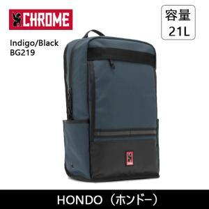 CHROME クローム HONDO(ホンドー) Indigo/Black BG219 【カバン】 バックバック デイパック ファッション おしゃれ snb-shop