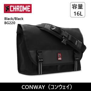 CHROME クローム CONWAY(コンウェイ) Black/Black BG220 【カバン】 ショルダーバッグ ファッション おしゃれ snb-shop