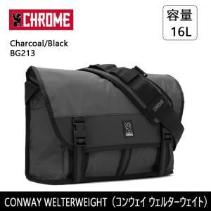 CHROME クローム CONWAY WELTERWEIGHT(コンウェイ ウェルターウェイト) Charcoal/Black BG213 【カバン】 ショルダーバッグ ファッション おしゃれ snb-shop