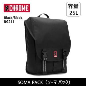 CHROME クローム SOMA PACK(ソーマ パック) Black/Black BG211 【カバン】 バックバック デイパック ファッション おしゃれ snb-shop