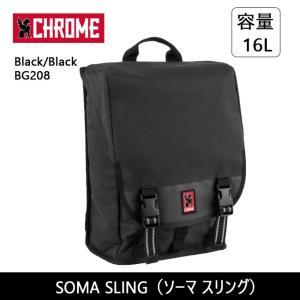 CHROME クローム SOMA SLING(ソーマ スリング)Black/Black BG208【カバン】SOMA 2.0 スリングバッグ バックパック シングルストラップ ファッション おしゃれ snb-shop