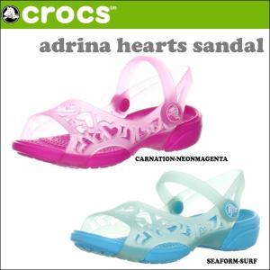 クロックス CROCSサンダル ADRINA HEARTS SANDAL C アドリナ ハート サンダル crs-026 snb-shop