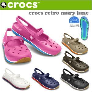 クロックス CROCSサンダル CROCS RETRO MARY JANE WOMEN レトロ メリージェーン ウィメン 国内正規品 crs-039|snb-shop
