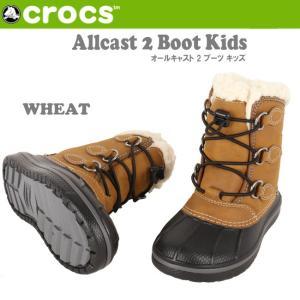 クロックス CROCS Allcast 2 Boot Kid...