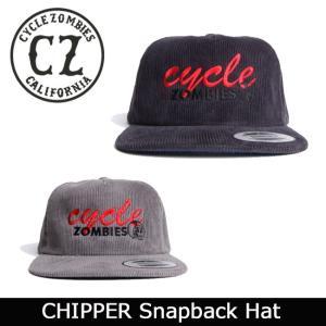 サイクルゾンビーズ CycleZombies CHIPPER Snapback Hat CZ-GFTH-009 【帽子】 帽子 キャップ コーデュロイ|snb-shop