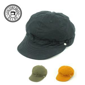 DECHO デコー SHALLOW KOME CAP シャローコメキャップ 8-1AD19 【アウトドア/おしゃれ/キャップ】 snb-shop