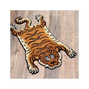 DETAIL ディティール Tibetan Tiger Rug DTTR-01 Mediam チベタンタイガーラグ DTTR-01/ミディアム 331601M 【アウトドア/インテリア/ラグ/おしゃれ】|snb-shop