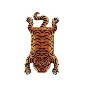 DETAIL ディティール Tibetan Tiger Rug DTTR-02 Medium チベタンタイガーラグ ミディアム 331602M 【アウトドア/インテリア/ラグ/おしゃれ】|snb-shop
