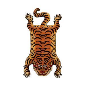 DETAIL ディティール Tibetan Tiger Rug DTTR-02 Large チベタンタイガーラグ ラージ 331602L 【アウトドア/インテリア/ラグ/おしゃれ】|snb-shop