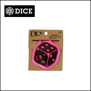 DICE ダイス マグネット付リフレクター TNP/PINK|snb-shop