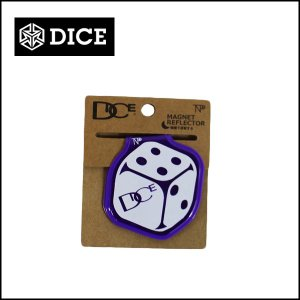 DICE ダイス マグネット付リフレクター TNP/PURPLE|snb-shop