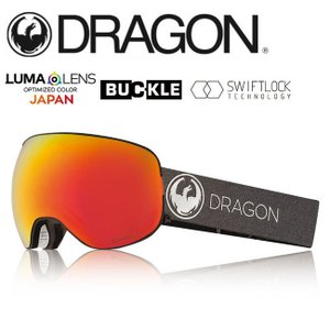 2019 DRAGON ドラゴン X2 ECHO SILVER/LUMALENSJ.REDION  【2019/ゴーグル/日本正規品/ジャパンフィット】|snb-shop
