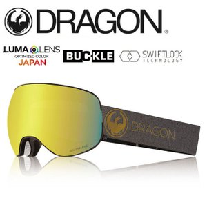 2019 DRAGON ドラゴン X2 ECHO GOLD/LUMALENSJ.GOLDION  【2019/ゴーグル/日本正規品/ジャパンフィット】|snb-shop