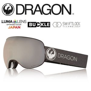 2019 DRAGON ドラゴン X2 ECHO SILVER/LUMALENSJ.SILVERION  【2019/ゴーグル/日本正規品/ジャパンフィット】|snb-shop