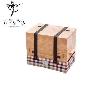 DRYAD ドリュアス 木製多目的ボックス 52-1009NA 【アウトドア/キャンプ/インテリア/箱/収納】|snb-shop