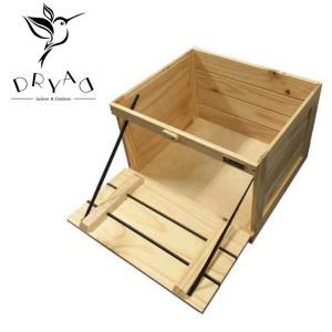 DRYAD ドリュアス 多目的木製コンテナ 52-1010NA 【アウトドア/キャンプ/インテリア/箱/収納】|snb-shop