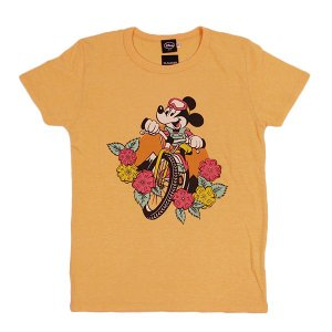 dsny-004【DISNEY/ディズニー】Tシャツ S/S TEE MICKEY MTB/H.YELLOW【メール便対応】|snb-shop