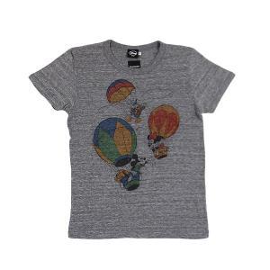 dsny-007【DISNEY/ディズニー】Tシャツ S/S ミッキー&フレンズ BALOON/H.GY【メール便対応】|snb-shop