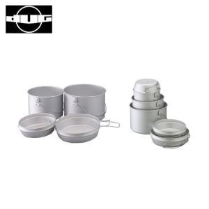 DUG ダグ 焚火缶 M/L セット DG-0102 【アウトドア/キャンプ/鍋/フライパン/料理】|snb-shop