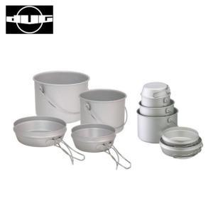 DUG ダグ 焚火缶 S/M セット DG-0101 【アウトドア/キャンプ/鍋/フライパン/料理】|snb-shop