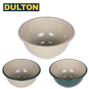 DULTON ダルトン ENAMELED BOWL エナメルボウル K19-0100 【深皿/ホーロー/食器/キッチン/アウトドア】|SNB-SHOP