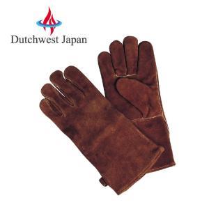 Dutchwest Japan ダッチウエストジャパン ストーブグローブ ブラウン PA8413B 【アウトドア/薪ストーブ/グローブ】|snb-shop