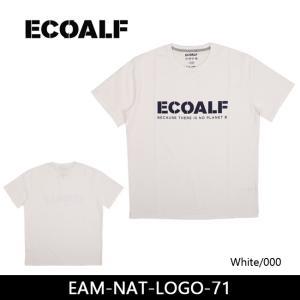 ECOALF エコアルフ EAM-NAT-LOGO-71 【服】【t-cnr】  Tシャツ ファッション アウトドア フェス【メール便・代引不可】|snb-shop
