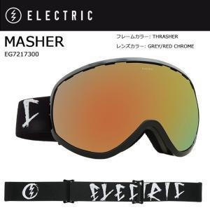 2018 ELECTRIC エレクトリック MASHER THRASHER GREY/RED CHROME JP EG7217300 【ゴーグル】アジアンフィット|snb-shop