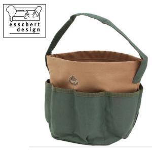 esschert design エシェルトデザイン Round Gardentool Bag GT05 【アウトドア/ガーデニング/収納】|snb-shop