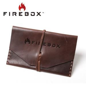 FIREBOX ファイヤーボックス Leather Case レザーケース FB-ACLF 【収納/ケース/ファイヤーストーブ/アウトドア/キャンプ/革】|snb-shop