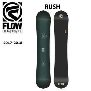 2018 FLOW フロー スノーボード 板 RUSH 【板】|snb-shop