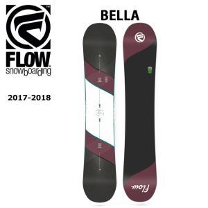 2018 FLOW フロー スノーボード 板 BELLA 【板】|snb-shop