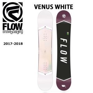 2018 FLOW フロー スノーボード 板 VENUS WHITE 【板】|snb-shop