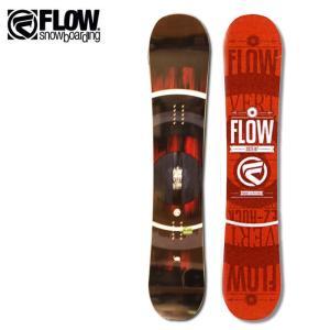 2018継続モデル FLOW フロー スノーボード 板 VERT RED  【板】日本正規品|snb-shop