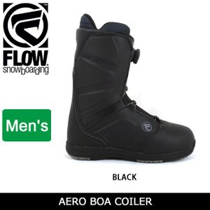2018継続モデル FLOW フロー AERO COILER BLACK 【ブーツ】|snb-shop