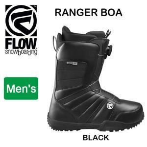 2018継続モデル FLOW フロー RANGER BOA  BLACK 【ブーツ】|snb-shop