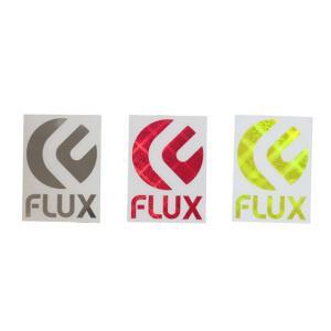 FLUX フラックス ステッカー FLUX HOLO ダイカット type1 Mサイズ 90mm x 120mm snb-shop