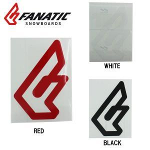 FANATIC ファナティック ステッカー F CI logo 縦 15cm snb-shop