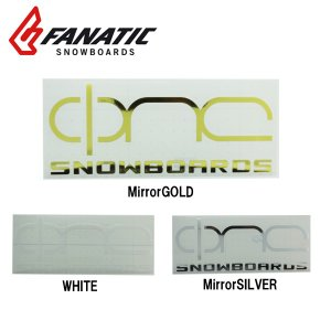 FANATIC ファナティック ステッカー ONE CI LOGO 横 20cm snb-shop
