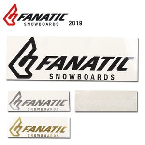 2019 FANATIC ファナティック STICKER FANATIC CI 30cm 【ステッカー/シール/スノーボード/日本正規品】 snb-shop